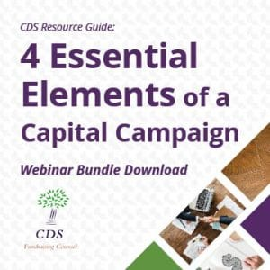 CDS 4 essential elements of a Capital Campaign